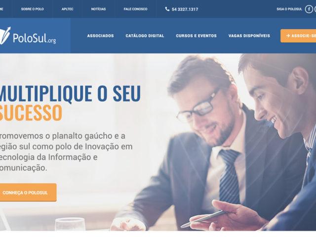 Em Parceria com a Upside, Polosul lança seu novo website.