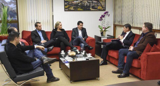PoloSul e APLTEC promovem encontro com reitor da UPF